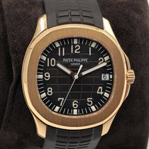 Patek Philippe Or rose Remontage automatique Brun Arabes 40mm occasion Aquanaut