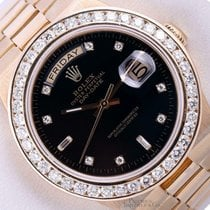 Rolex Day-Date Oysterquartz Yellow gold 36mm Black United States of America, California, Los Angeles