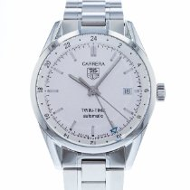 TAG Heuer Carrera Calibre 7 Steel 39mm Silver United States of America, Georgia, Atlanta
