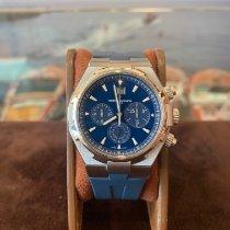Vacheron Constantin Overseas Chronograph Acier 42mm Bleu Sans chiffres France, Cannes