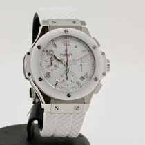 Hublot Big Bang 41 mm Acier 41mm Blanc Arabes