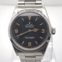 Rolex Explorer Steel 36mm Black Arabic numerals United States of America, New York, New York