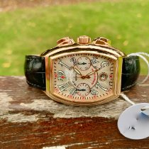 Franck Muller Rose gold Automatic 8005 CC pre-owned United Kingdom, NORTH WALES