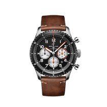 Breitling Aviator 8 Steel 43mm Black Arabic numerals United States of America, New York, New York City