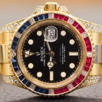 Rolex 116758SARU Yellow gold 2009 GMT-Master II 40mm pre-owned