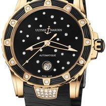 Ulysse Nardin Lady Diver Starry Night Pозовое золото 40mm Черный