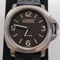 Panerai Luminor Base 8 Days usados 44mm Marrón Hebilla ardillón