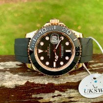 Rolex Yacht-Master 40 Rose gold 40mm Black No numerals United Kingdom, NORTH WALES