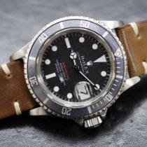 Rolex Submariner Date Steel 40mm Red No numerals