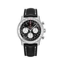 Breitling Navitimer 1 B01 Chronograph 43 Steel 43mm Black No numerals United States of America, New York, Forest Hills