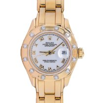 Rolex Lady-Datejust Pearlmaster new 1995 Automatic Watch with original box 69318