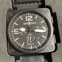Bell & Ross BR 01-94 Chronographe Сталь Черный