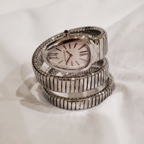 Bulgari Steel Quartz Silver pre-owned Serpenti