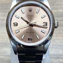 Rolex Air King Precision Otel 34mm Roz Fara cifre
