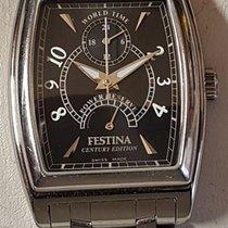 Festina Steel 33mm Automatic Automatic Armbanduhr Festina Century Edition in Edelstahl – Cal. ETA 2892-A2 pre-owned