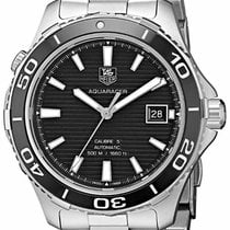 TAG Heuer Aquaracer 500M new Automatic Watch with original box Tag Heuer WAK2110.BA0830 Black Dial Aquaracer 41MM Men's Automatic Stainless Steel Watch