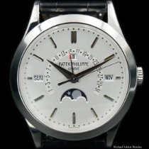 Patek Philippe Perpetual Calendar Platinum 39.5mm Silver United States of America, New York, New York