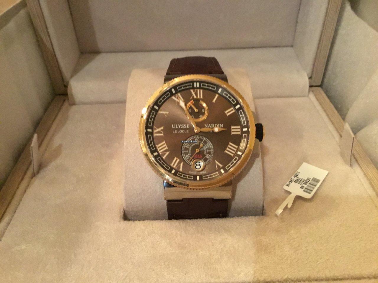 Ulysse Nardin Marine Chronometer Manufacture 1185-126/45 2020 new
