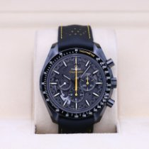 Omega Speedmaster Professional Moonwatch pre-owned 44.25mm Black Leather
