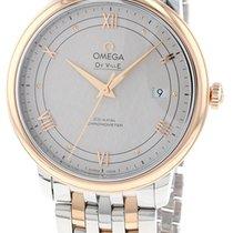 Omega 424.20.40.20.02.003 Or/Acier 2019 De Ville Prestige 39.5mm nouveau