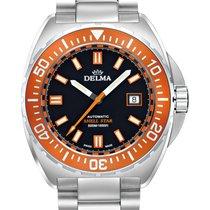 Delma Steel 44mm Automatic 41701.670.6.151 Delma Shell Star Automatic new