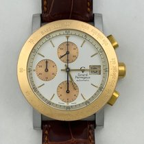 Girard Perregaux GP 7000 Gold/Steel 38mm White United States of America, California, Woodland Hills