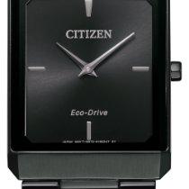 Citizen Stiletto Steel 28mm Black No numerals United States of America, New York, Bellmore