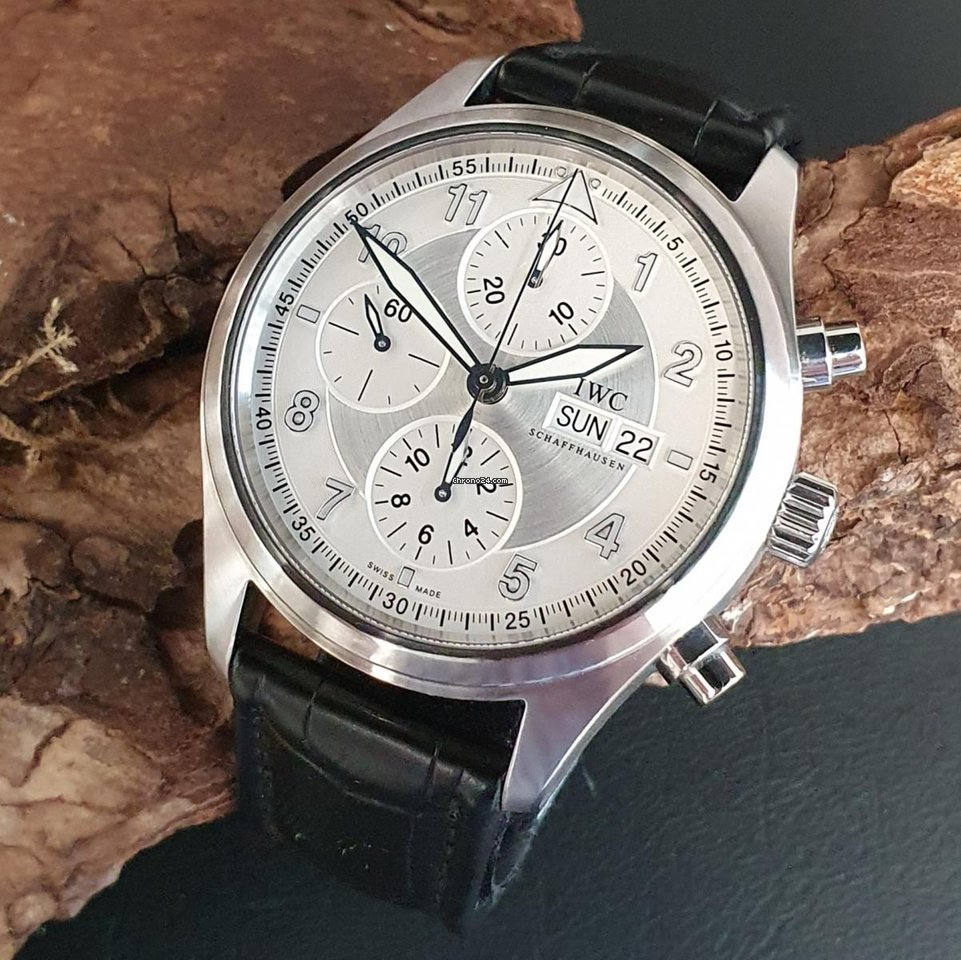 IWC Pilot Spitfire Chronograph IW37102 2011 pre-owned