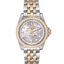 Breitling Galactic 32 Gold/Steel 32mm Mother of pearl