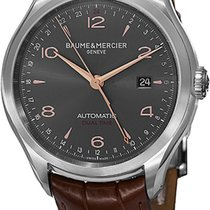 Baume & Mercier Clifton Steel Grey United States of America, New York, Brooklyn