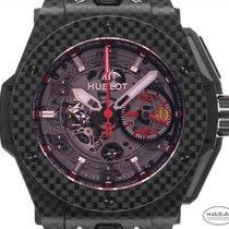 Hublot Big Bang Ferrari 401.QX.0123.VR Very good Carbon 45mm Automatic