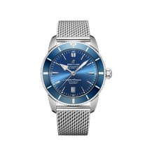 Breitling Superocean Heritage II 46 Steel 46mm Blue No numerals United States of America, New York, New York City