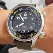 Oris Big Crown ProPilot Altimeter occasion 47mm Noir Date Textile