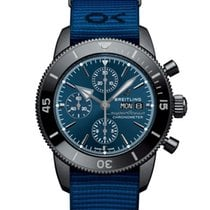 Breitling Superocean Heritage II Chronographe Steel 44mm Blue No numerals United States of America, New York, New York City