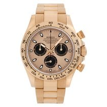 Rolex Rose gold Automatic Gold No numerals 40mm pre-owned Daytona