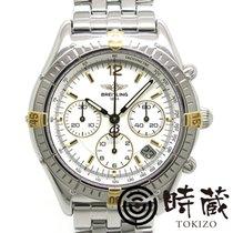 Breitling (ブライトリング) クロノコックピット ゴールド/スチール 37mm ホワイト 文字盤無し 日本, Kanazawa-shi, Ishikawa-ken