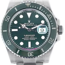 Rolex Remontage automatique Vert 41mm occasion Submariner Date