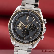 Omega Speedmaster Professional Moonwatch Guld/Stål 42mm Grå