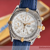 Breitling Crosswind Racing Or/Acier 43mm Blanc