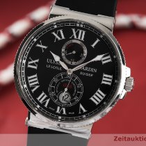Ulysse Nardin Marine Chronometer 43mm Сталь 43mm Черный