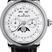 Blancpain Villeret Complete Calendar new 2020 Automatic Chronograph Watch with original papers 6685-1127-55B