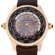 Girard Perregaux WW.TC 41mm Automatisch tweedehands Horloge met originele doos