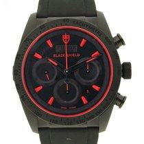 Tudor Fastrider Black Shield neu Automatik Uhr mit Original-Box und Original-Papieren M42000CR