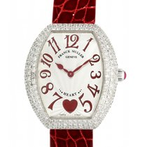 Franck Muller Heart White gold 26mm Silver Arabic numerals