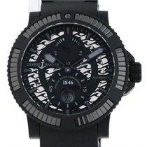 Ulysse Nardin Diver Black Sea neu 2018 Automatik Uhr mit Original-Box und Original-Papieren 263-92B-3C/922