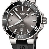 Oris Titanium Automatic Grey 43.5mm new Aquis Titanium Date