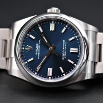 Rolex Oyster Perpetual 36 Steel 36mm Blue No numerals United Kingdom, Whitby- North Yorkshire