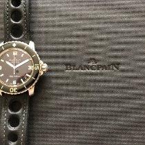 Blancpain (ブランパン) Fifty Fathoms ステンレス 45mm ブラック アラビアインデックス