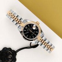 Rolex Lady-Datejust Zlato/Ocel 26mm Černá