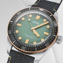 Oris Divers Sixty Five Stahl 40mm Grün Deutschland, Berlin